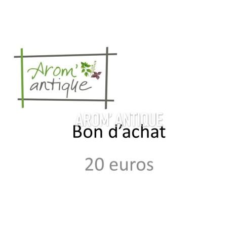 Bon d'achat de 20 euros