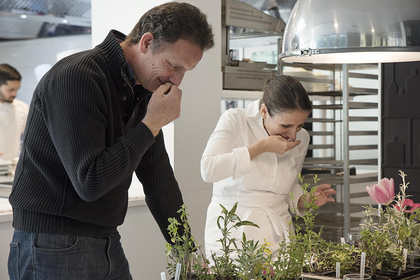 Laurent Bourgeois et Anne-Sophie Pic