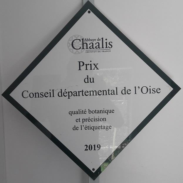 Prix du département de l'Oise pour Arom'antique